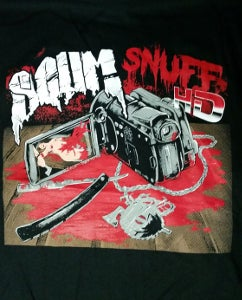 Image of SCUM SNUFF HD ALBUM COVER T-SHIRT