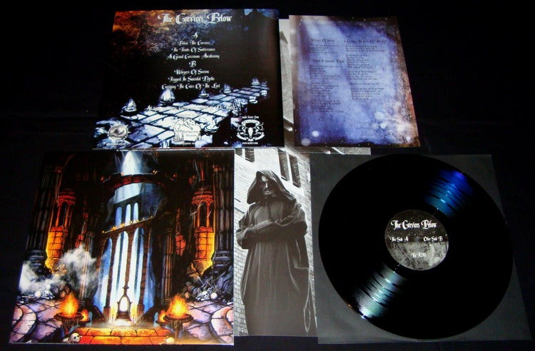Image of The Crevices Below - Below The Crevices LP