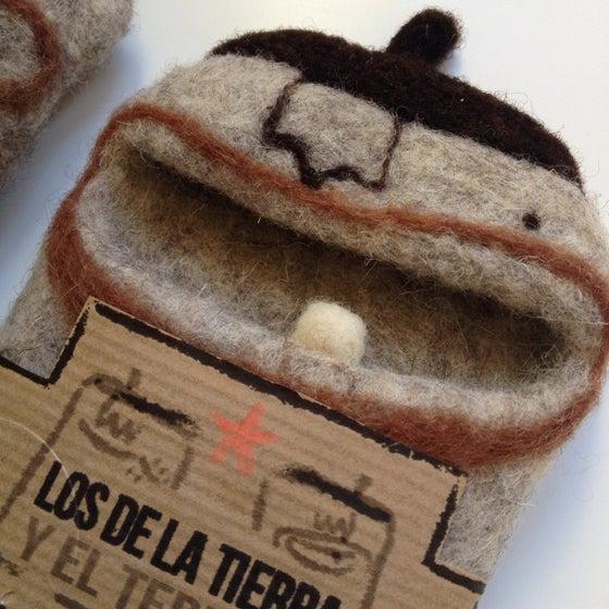 """Image of """"Los de la tierra y el terruño"""" felted cases. MOBILE CASES. Custom Order"""