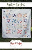 Image of pinwheel sampler 2 quilt pattern #115 (PDF VERSION)