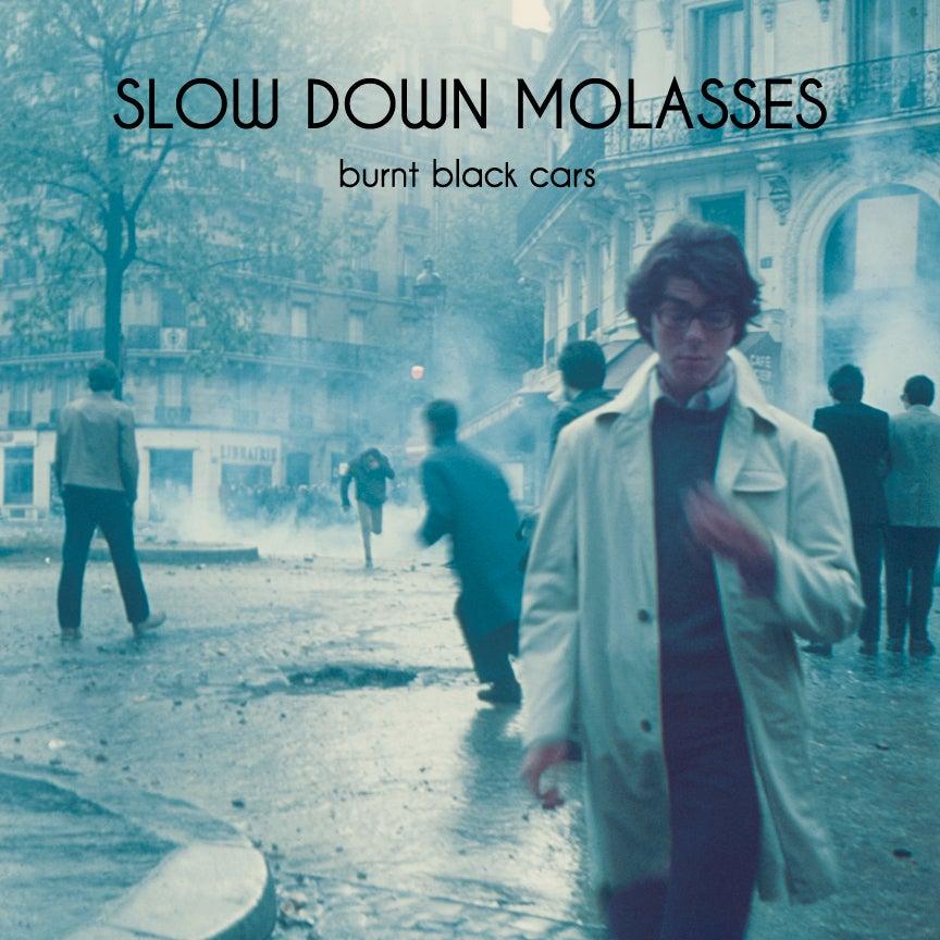 "Image of Slow Down Molasses - Burnt Black Cars 12"" LP"