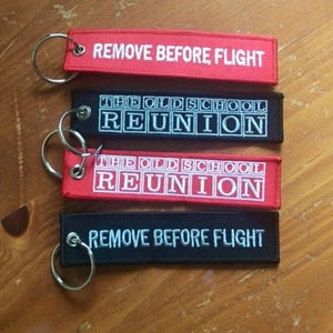 Image of Remove before Flight #OSR tag