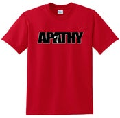 Image of Apathy Classic Logo - Red Tee