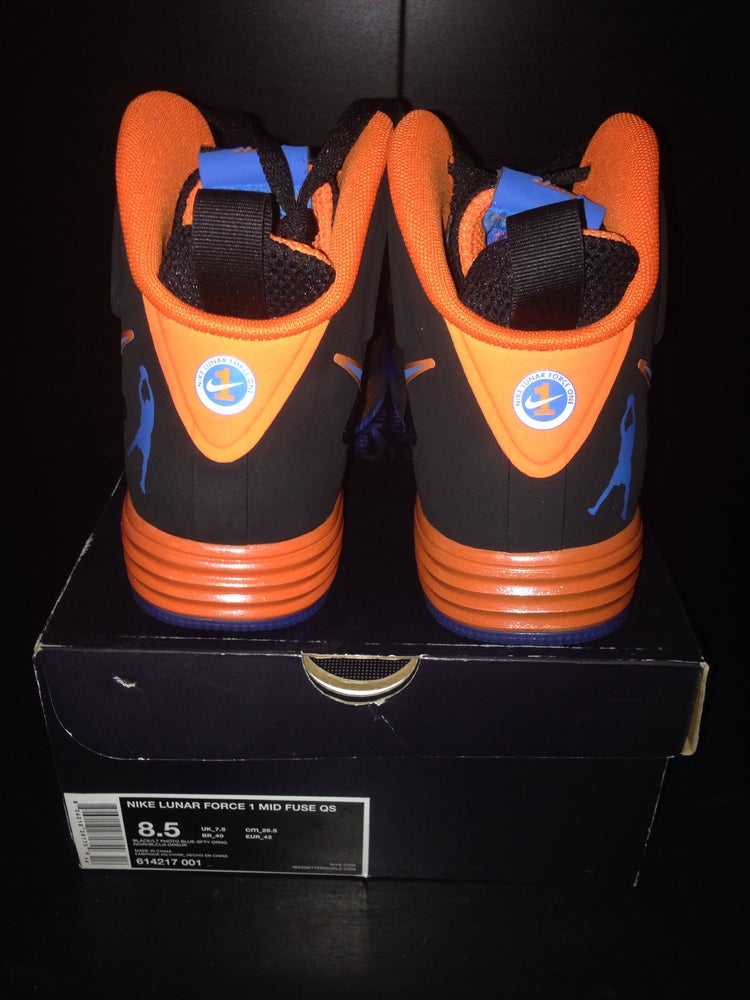 """Image of Nike Lunar Force 1 Mid """"Sheed"""" Sign By Rasheed Wallace"""