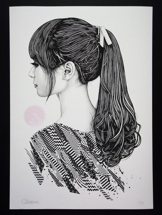 Image of Skye - A3 Giclée Print