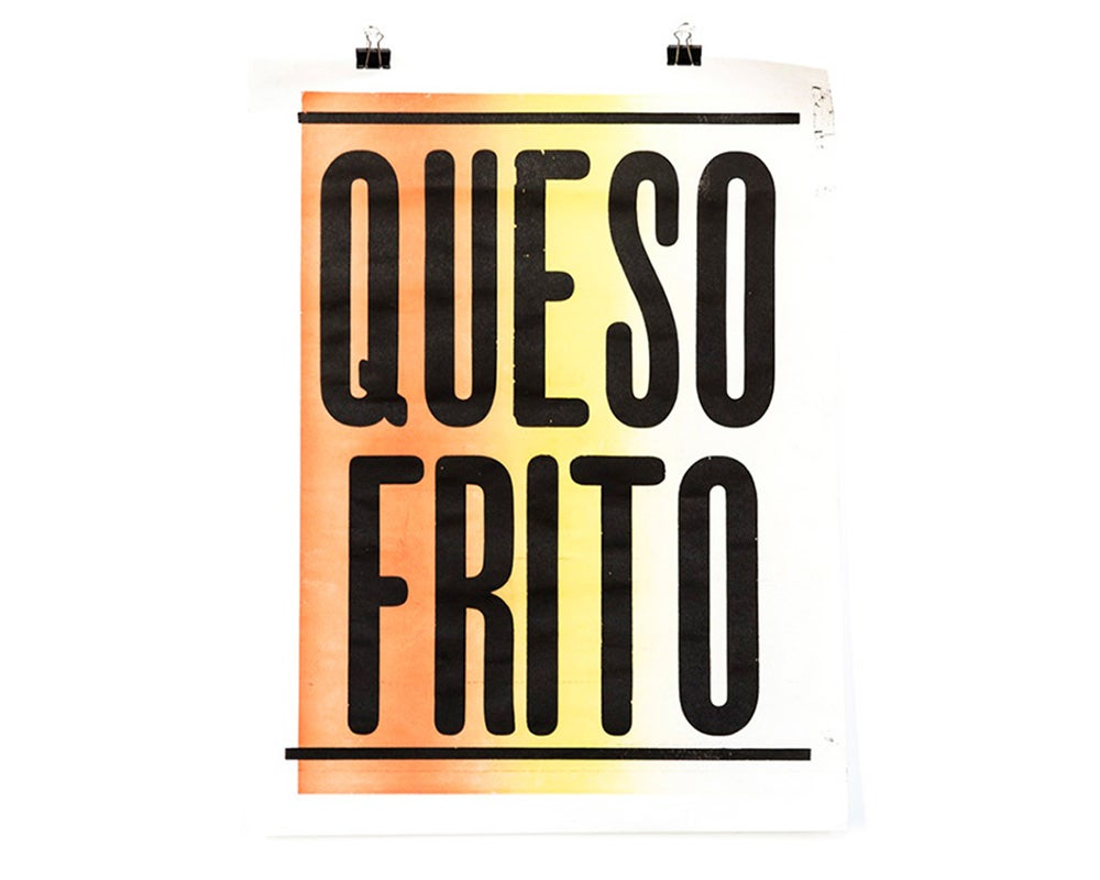 Image of QUESOFRITO POSTER