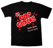Image of Pop Glocks T-Shirt - Black Tee