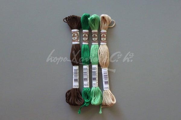 DMC Cotton Retors Mat nº4 - Lopo Xavier