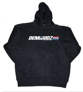 Image of Demigodz G.I. Joe Hoodie - Black
