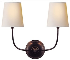 Image of 2 Vendome Double Sconces