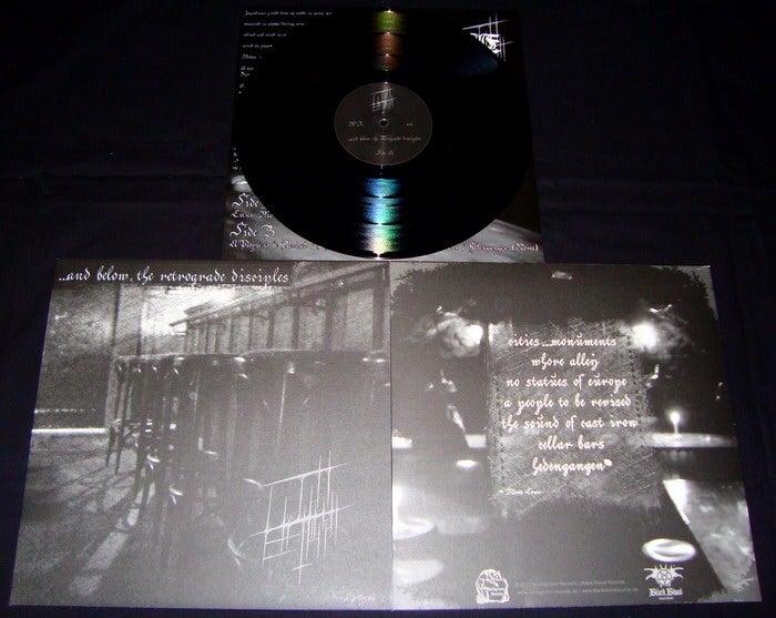 Image of Licht Erlischt - ...And Below, The Retrograde Disciples LP