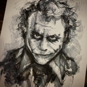 Image of ORIGINAL MARKERS - Heath Ledger Joker