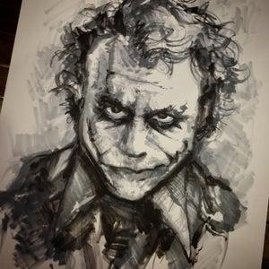 Image of ORIGINAL MARKERS - Heath Ledger Joker