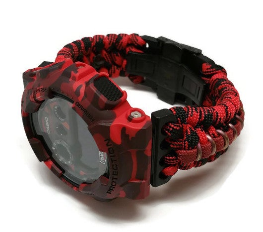 Image of Red Camo Paracord