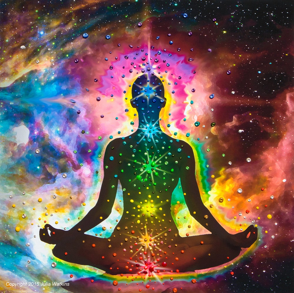 Image of Chakra Healing Energy Print