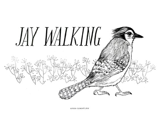 Image of Jay Walking / Mini Print