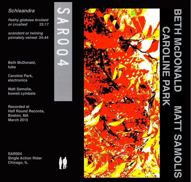 "Image of SAR004 - Beth McDonald/Caroline Park/Matt Samolis ""Schisandra"""