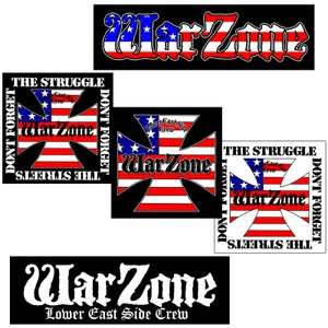 Image of WARZONE Sticker Pack