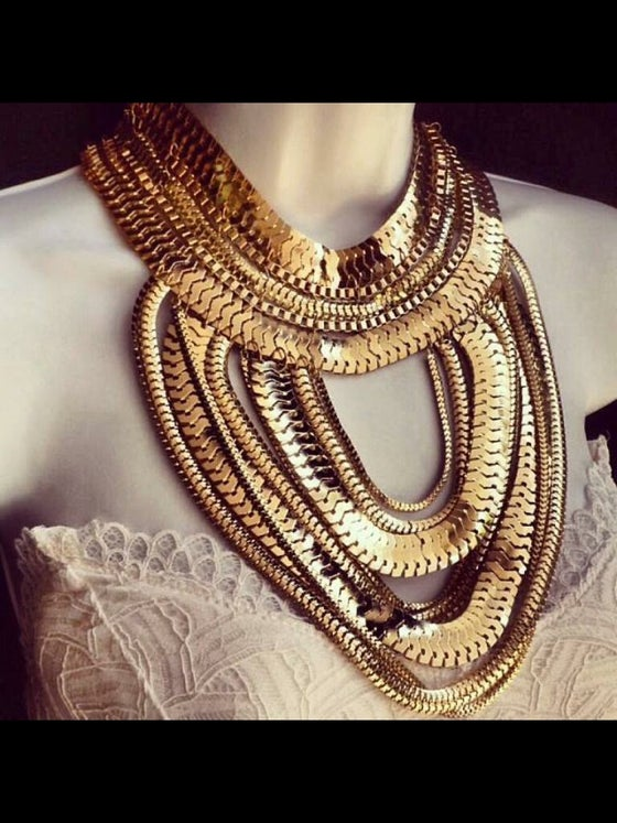 Image of Gold Neckace