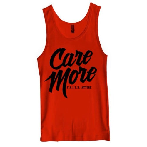 """Image of """"Care More"""" Tank"""