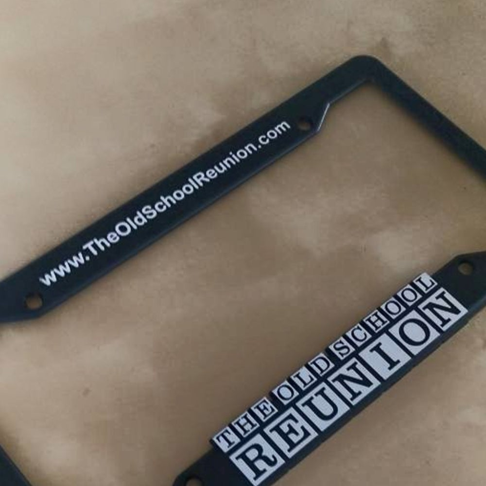Image of The Old School Reunion Plate Frames