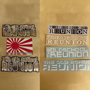 Image of Signature Old School Stickers
