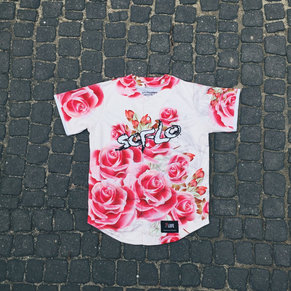 Image of Pink Rosa Jersey