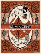 Image of St. Vincent Summer Tour Poster