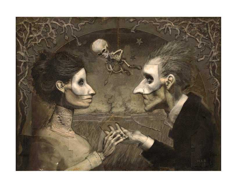 "Image of ""Amoureux"" Limited Edition print"