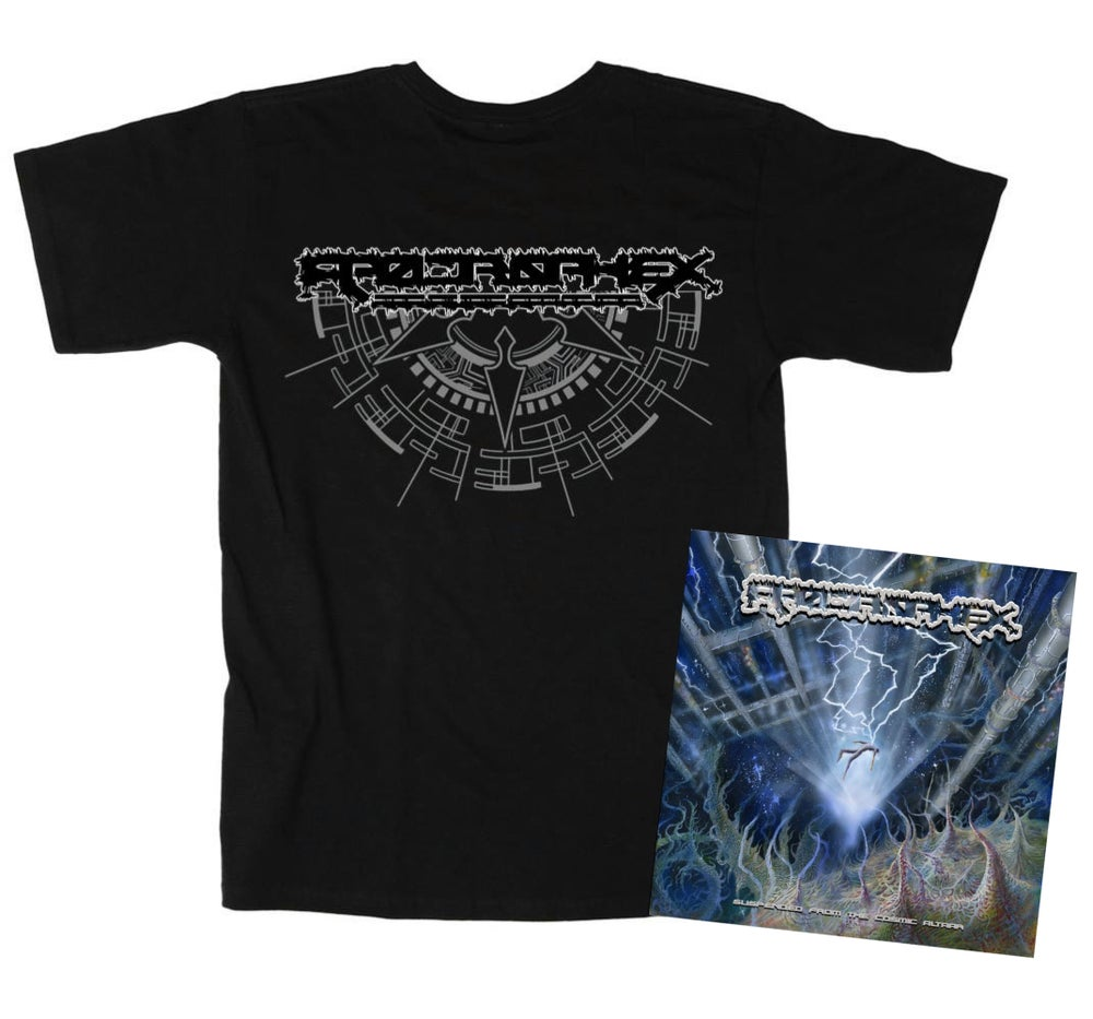 Image of Apocrophex T Shirt/CD Bundle (Pre Order)