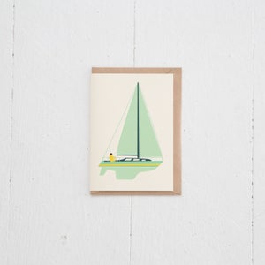 Image of Greeting Card | Voilier