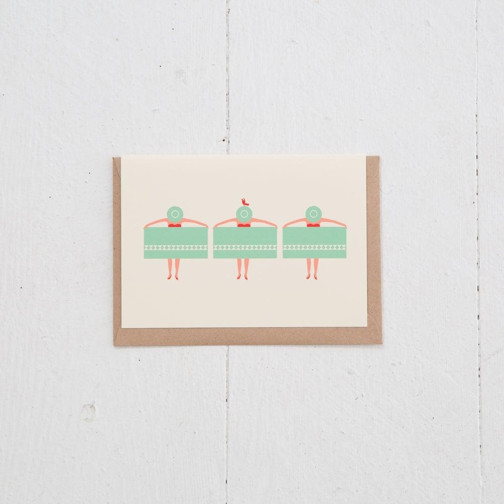 Image of Greeting Card | Palmsprings Plage
