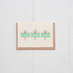 Image of Greeting Card   Palmsprings Plage