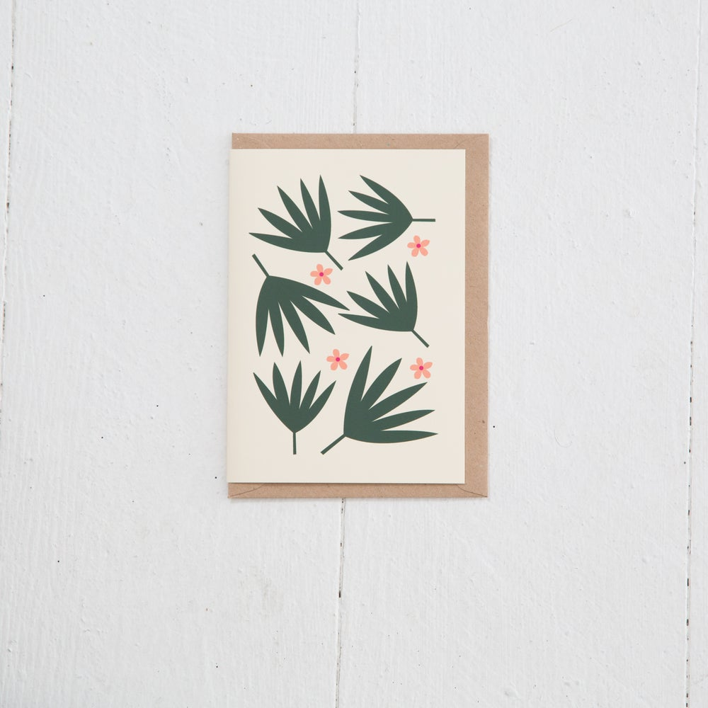 Image of Greeting Card   Palmiers
