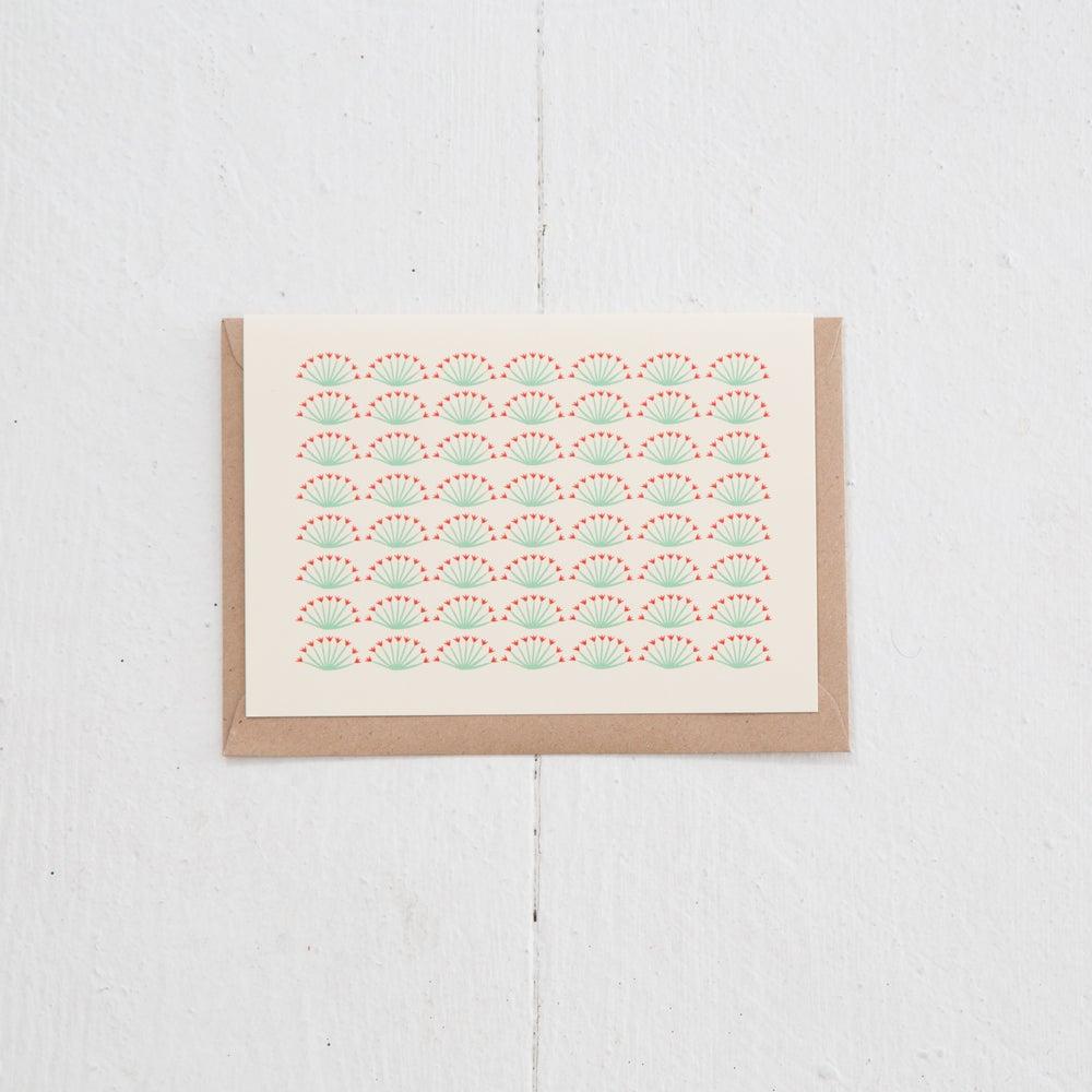Image of Greeting Card   Les Fleurs de palmsprings