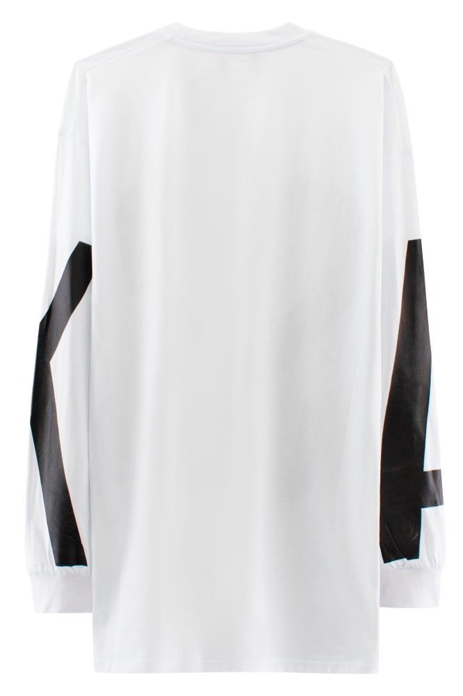 Image of ASSK WRAP LOGO T-shirt - White