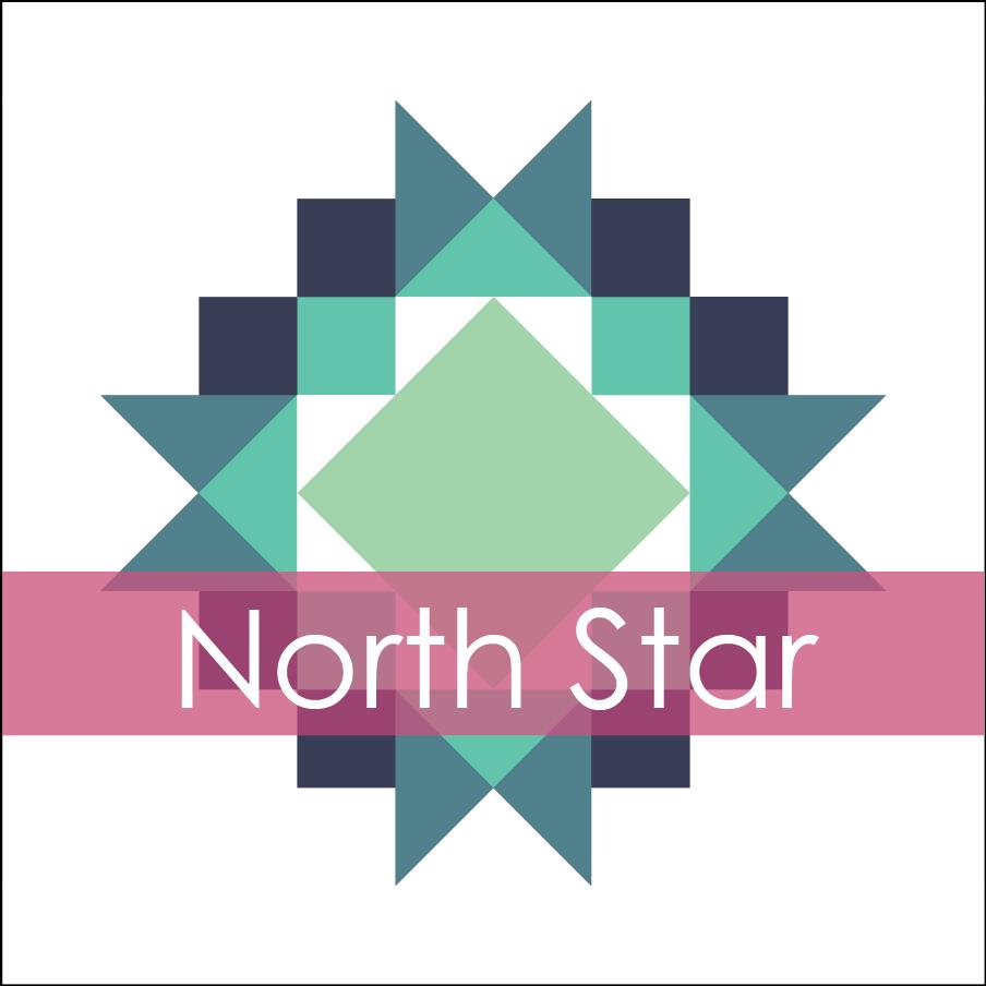 Image of North Star Mini Quilt #116, PDF