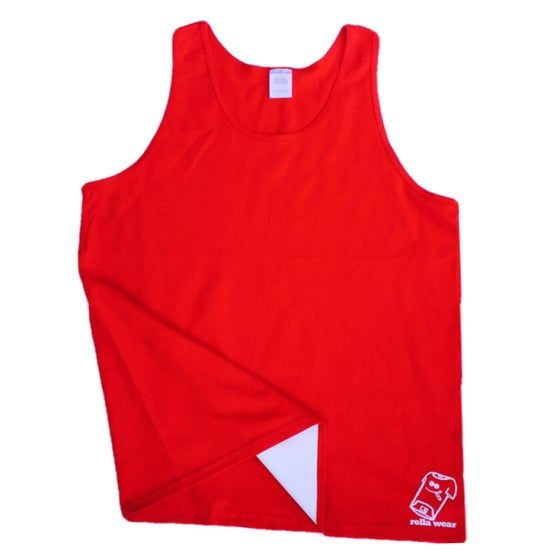 Image of Red Rolla Wear Tank