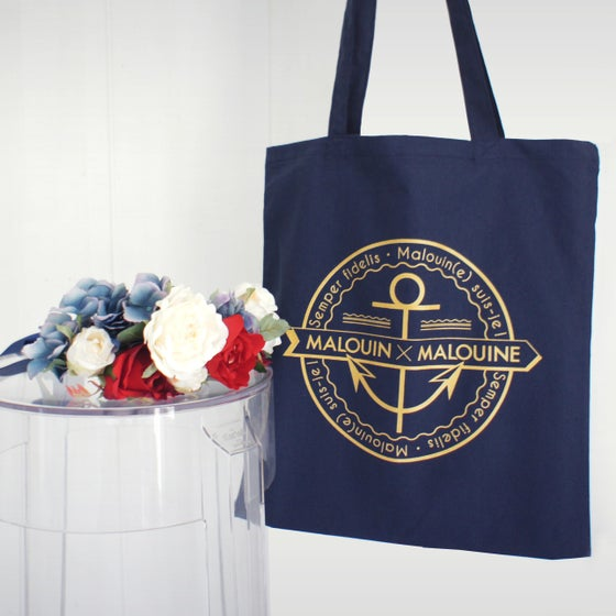 Image of TOTE BAG NAVY COLLECTION