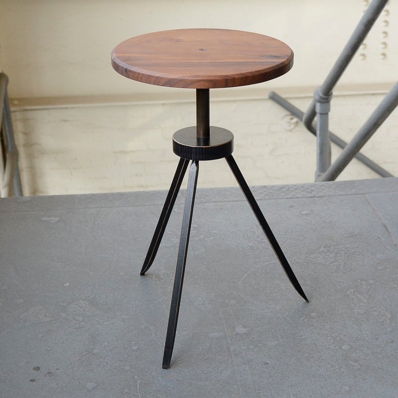 Image of tripod side table #0053