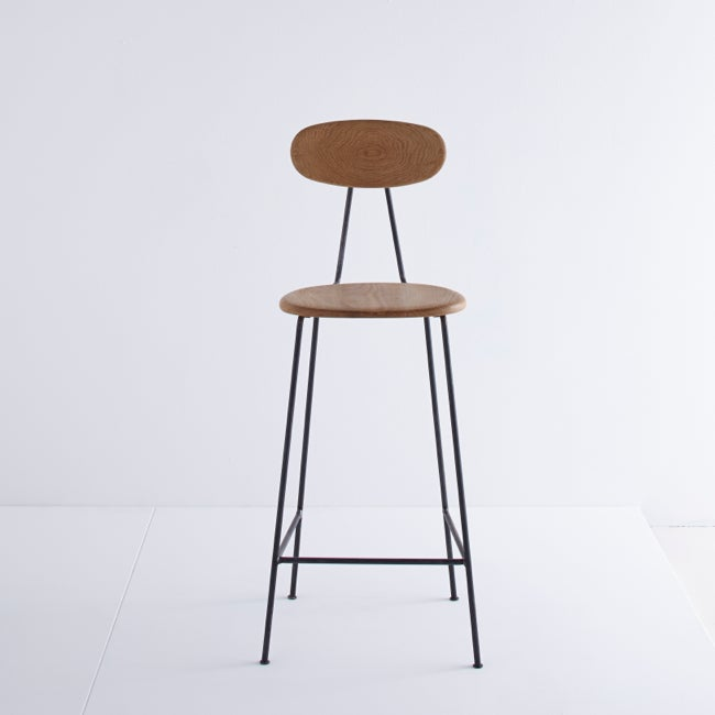 Image of MAR-DEN Bar Stool (Oak) - £265 + VAT