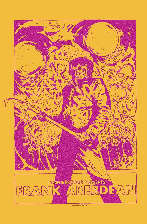 Image of Frank Aberdean - Silkscreen Print by Jon Werrin