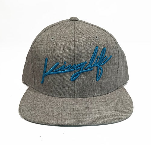 Image of HEATHER GREY KINGLIFE SNAPBACK