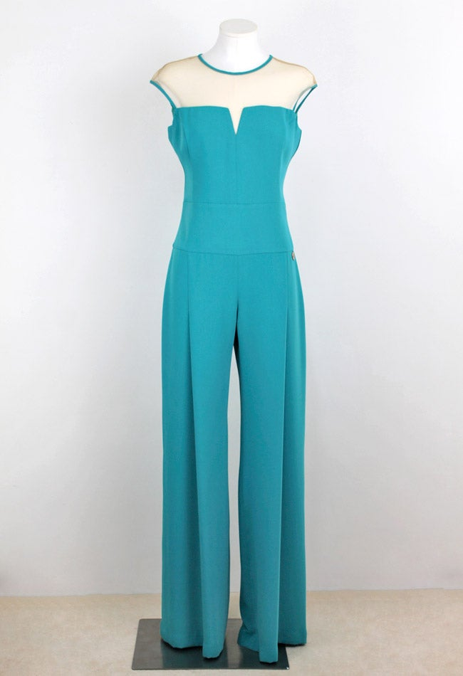 Image of TURQUOISE JUMPSUIT
