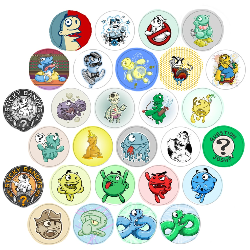 Image of Button Pack