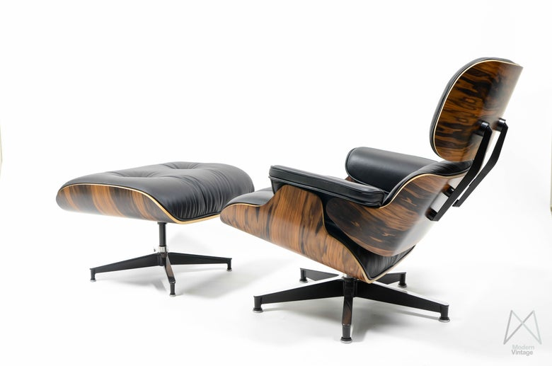 Modern vintage amsterdam original eames furniture lounge chairs - Lounge chair eames prix ...