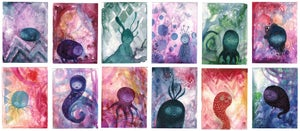 Image of Creature Collection Postcards/Notecards