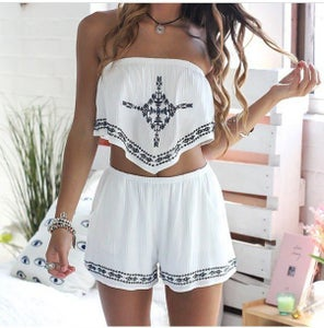 Image of CUTE TWO PIECE ROMPER ANCHOR HIGH QUALITY