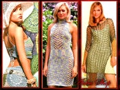 Image of Crochet Patterns eBook Irish Lace Dresses Wedding Diagram FREE SHIPPING - JMDID