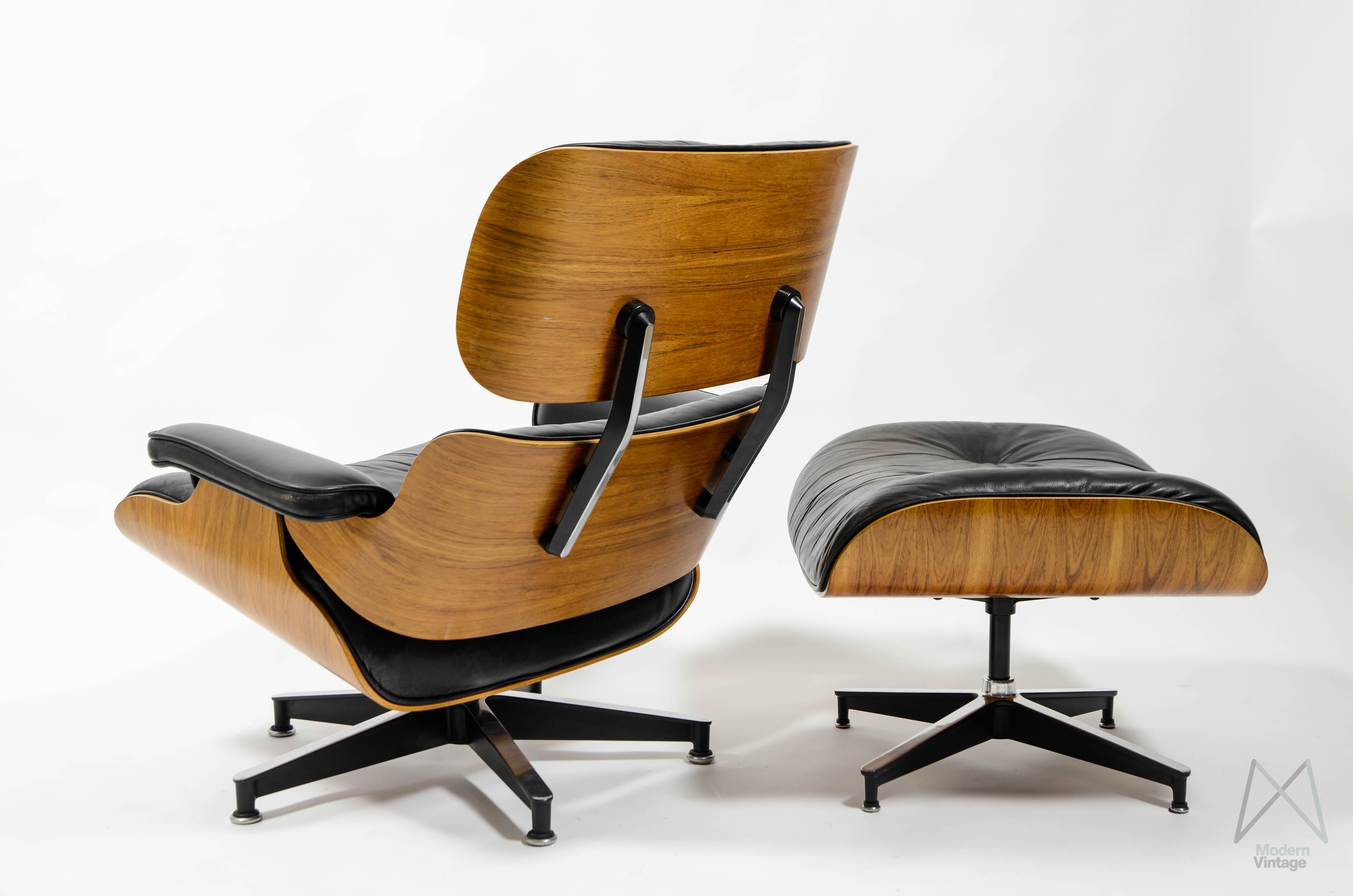 Vintage eames lounge chair eames lounge chair u0026 - Chaise eames herman miller ...